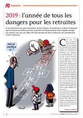 2019 - Année de tous les dangers pour les retraites